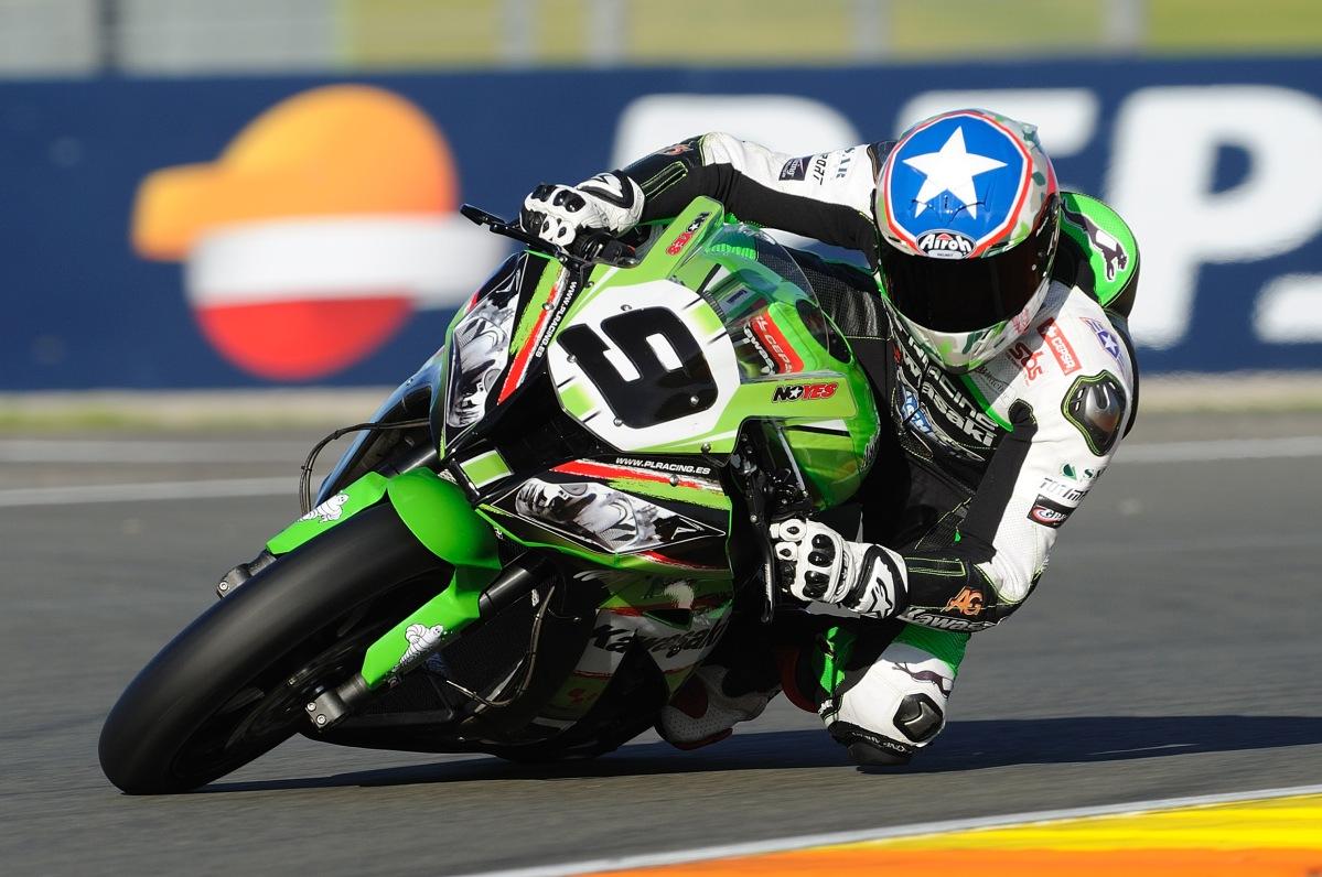 Kenny Noyes sufre un grave accidente en Aragón