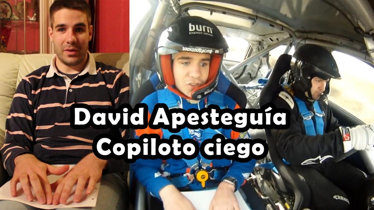 Entrevista David Apesteguia | Copiloto ciego