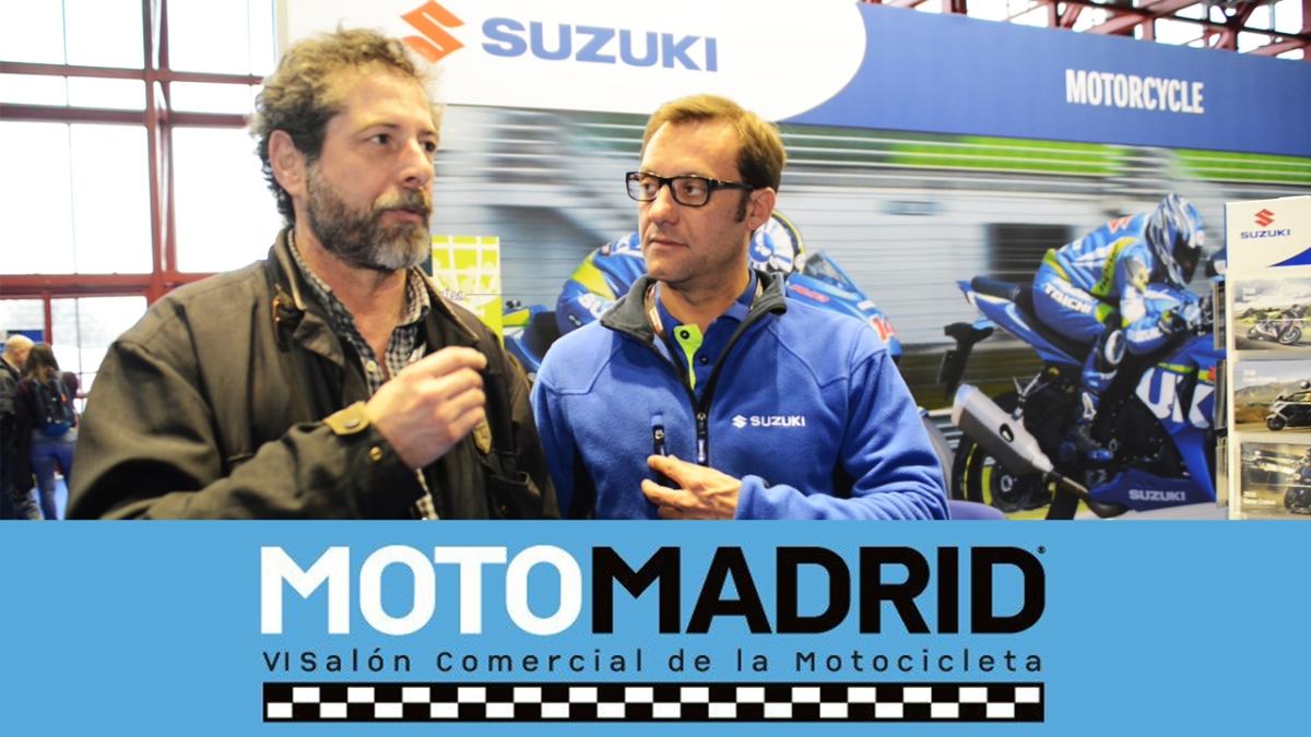 Las grandes novedades de Suzuki en Moto Madrid 2017