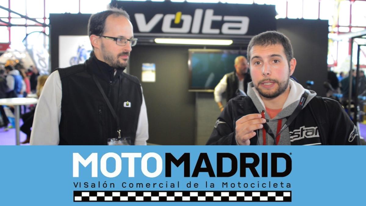 Volta Motorbikes, la marca española de motos eléctricas en Moto Madrid 2017