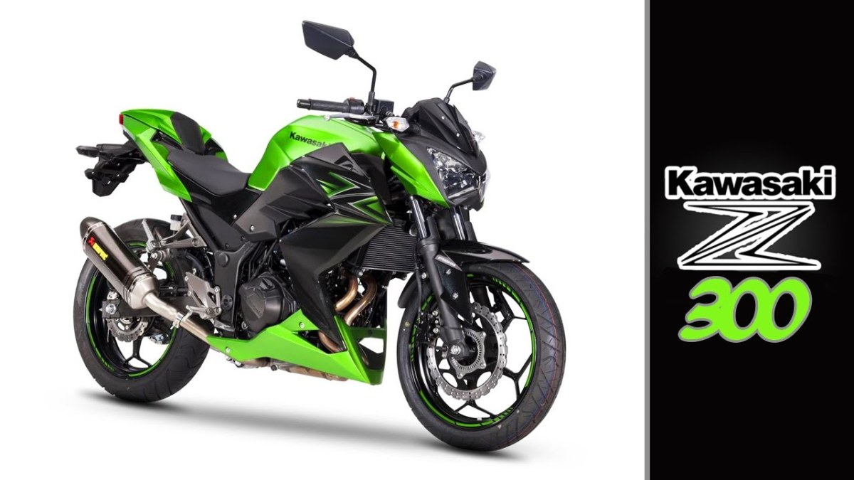 Kawasaki Z300 Review completa