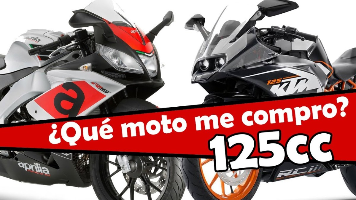 Las mejores motos de 125cc