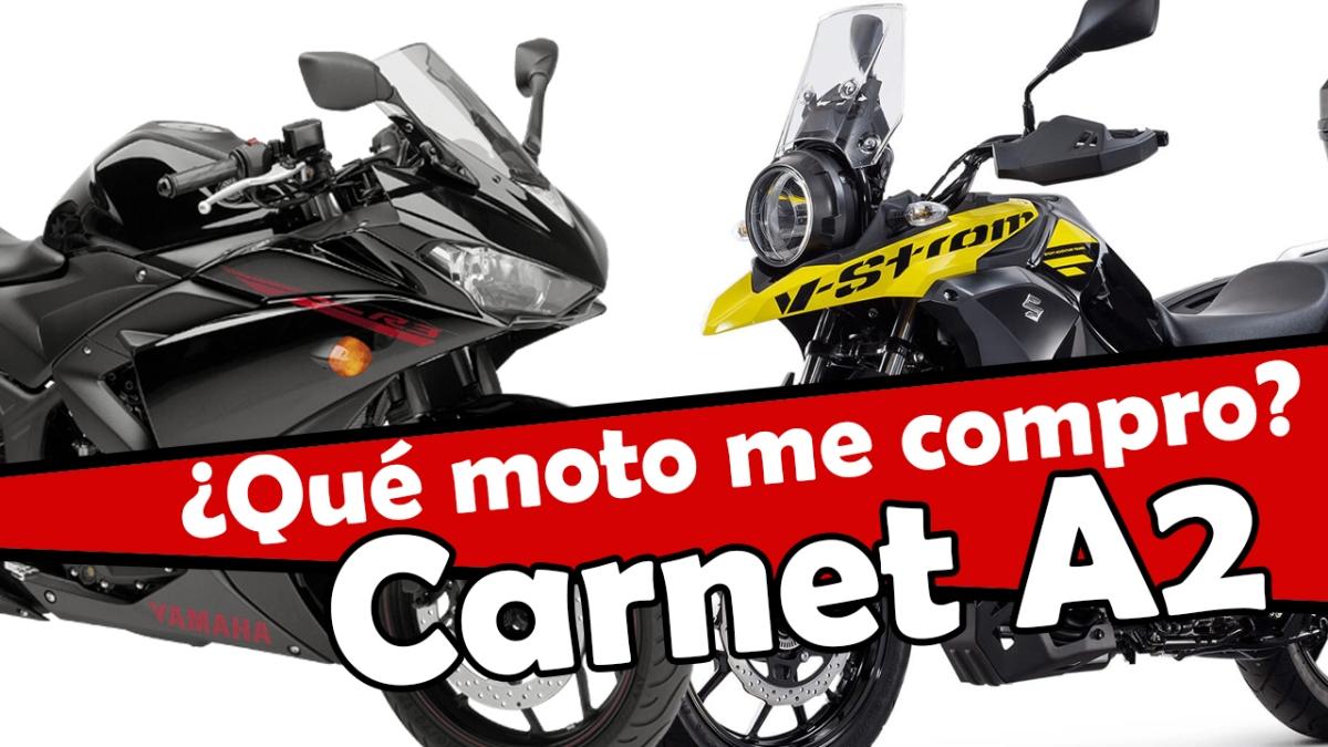 Las mejores motos para el Carnet A2