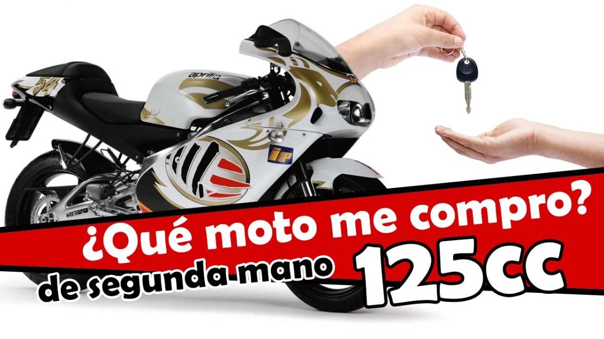 Las mejores motos de 125cc de segunda mano