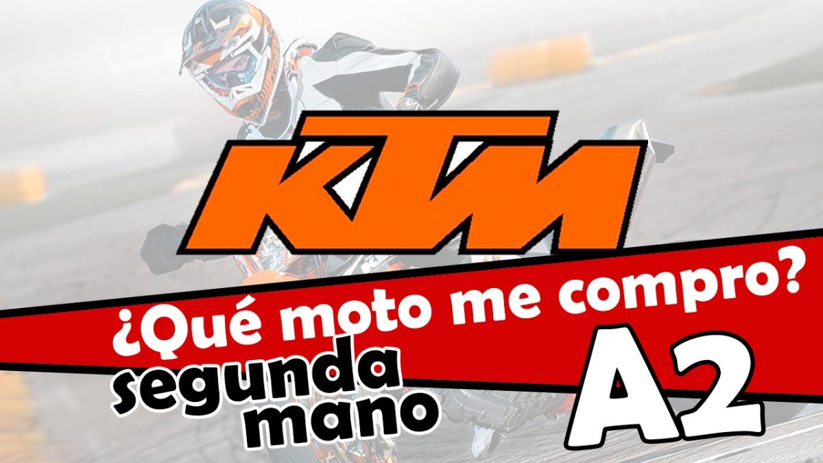 Las mejores KTM de segunda mano para el A2