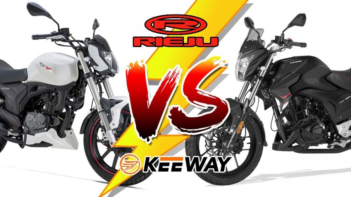 Keeway RKV 125 VS Rieju Strada 125