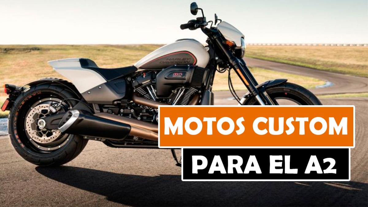 LAS MEJORES MOTOS CUSTOM PARA EL CARNET A2 DE 2018