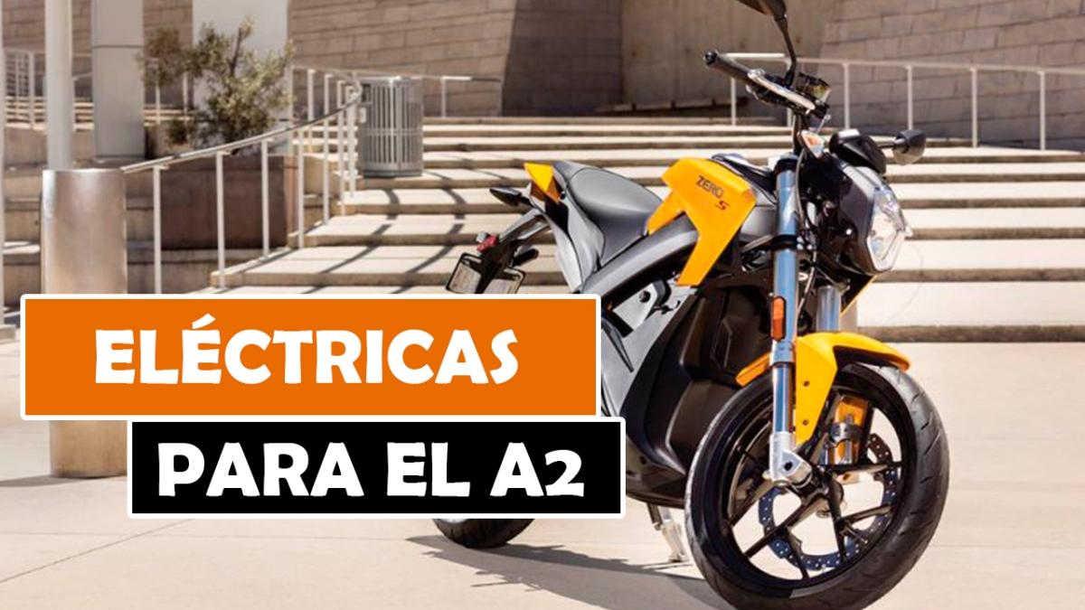 LAS MEJORES MOTOS ELÉCTRICAS PARA EL CARNET A2 DE 2018