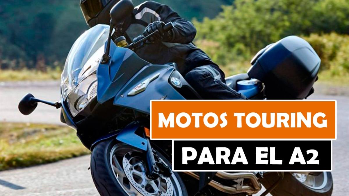 LAS MEJORES MOTOS TOURING PARA EL CARNET A2 DE 2018