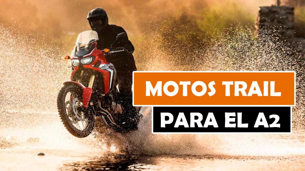 LAS MEJORES MOTOS TRAIL PARA EL CARNET A2 DE 2018